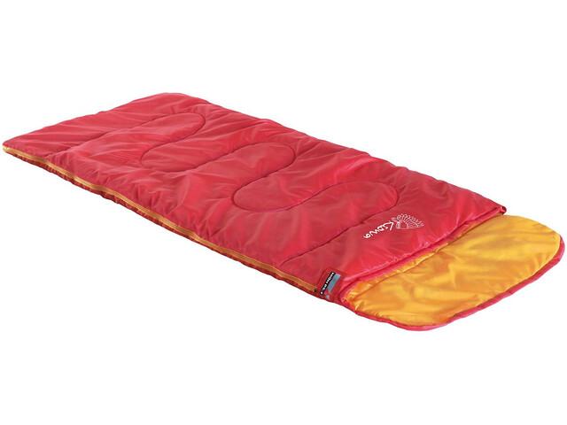 High Peak Kiowa - Sac de couchage Enfant - gauche orange/rouge